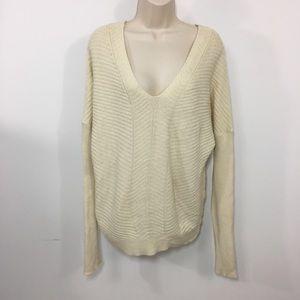 Vince Oversized V-neck Long  Sleeve sweater s/m